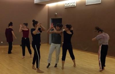 danseuse contemporaine