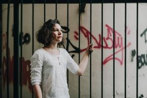 comédienne Eugénie Leclercq